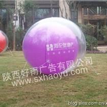 西安双层落地气球灯光气球灯路镜面球场景装?#32441;?#29699;灯光球
