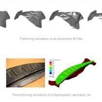 ESI PAM FORM復合材料熱模壓成型模擬中國區