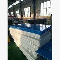 PE板具有優良的耐大多數生活和工業用化學品的特性