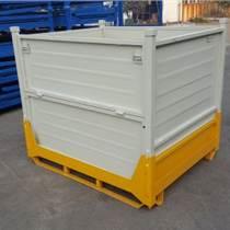 仓储笼固定折叠仓储笼物流台车 铁筐料箱 铁框周转箱