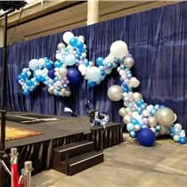 昆明商场气球布置展会气球布置年会气球装饰