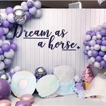 昆明花語花香氣球寶寶宴氣球百日宴氣球生日宴氣球派對