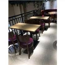 真材实料快餐桌椅定制工厂
