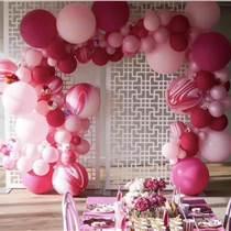 昆明花語花香氣球求婚氣球告白氣球寶寶宴氣球畢業季