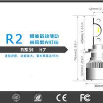 廠家LEDR9車燈 前大燈汽車燈泡 汽車改裝配件現貨