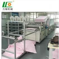 梯形过滤袋机 东莞力铖厂家供应专业生产高效过滤袋制造