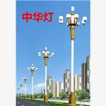 8米中华灯30瓦9个灯头保定华灯厂家