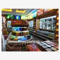 超市饮料环岛柜饮料冷藏柜饮料展示柜