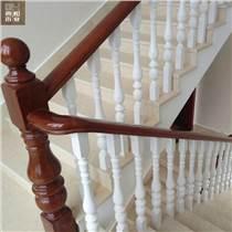 徐州典和復式實木樓梯立柱定制