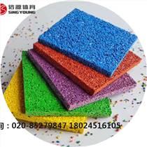 新国标塑胶跑道厂家,材料满足新国标物理化学性能
