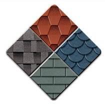 單層雙層馬賽克等多種型號彩色瀝青瓦