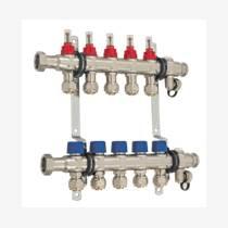 自帶流量計分水器 德國哈文HEVIN進口不銹鋼分集水器