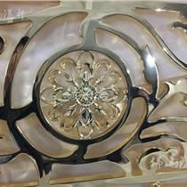 无锡铝板雕刻屏风 铝板雕刻镂空花格屏风