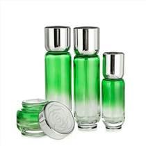 一葉子護膚品套裝瓶子化妝品玻璃瓶包材空瓶廠家