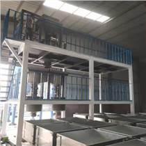 德駿水泥發泡設備建材機械免蒸混凝土砌塊設備生產線異曲