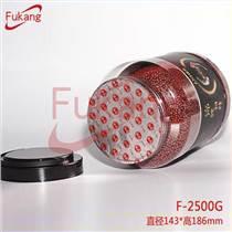 供應2500ml透明塑料罐 寵物飼料塑料瓶廠家批發定