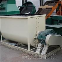 年產十萬噸有機肥生產流程華強直銷臥式攪拌機