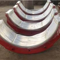 工廠加工制造巴氏合金軸瓦 滑動軸承 白合金軸瓦 來圖