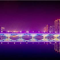 戶外燈光亮化|繁華都市的燈光點綴