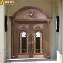 上海别墅大铜门真铜门加工生产 上海如雅铜门专业加工