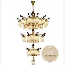 新中式燈具的特點-家居中式燈具批發廠家-銅木源招商