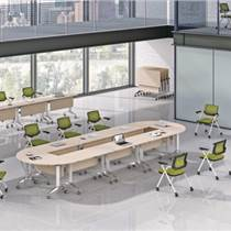 廠家直銷 簡約會議培訓桌組合折疊學生課桌椅