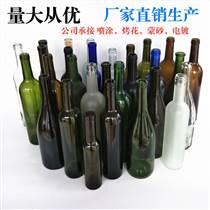 透明玻璃紅酒瓶葡萄酒瓶