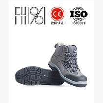 新款中幫透氣防砸防靜電勞保鞋FH16-0318