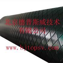 包膠耐磨橡膠板德普斯威滾筒包膠菱形耐磨膠板