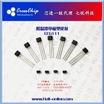 芯進CC6111 CC6112電動窗簾位置檢測單極霍爾