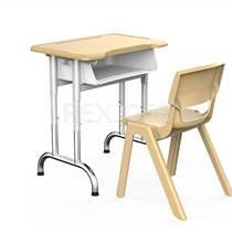 學校課桌椅廠家批發 學生學習課桌椅
