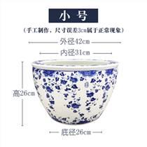陶瓷鱼缸青花雅致传承
