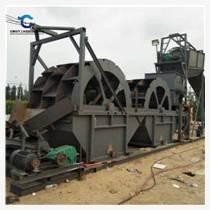 大型砂石礦石洗砂機 四排輪斗洗砂機現貨