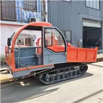 6噸熱帶雨林履帶運輸車 自走式履帶翻斗車