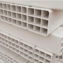 河北PVC格栅管生产厂家保定九孔格栅管规格