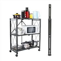 網紅折疊置物架廚房收納架陽臺整理架