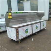 商用不銹鋼無煙燒烤車環保油煙凈化器木炭爐擺攤移動