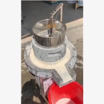 廣東新款靜音電動石磨磨漿機商用腸粉豆漿芝麻糊多用途石磨