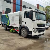 國六重汽豪沃12噸道路清掃車10噸掃路車