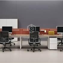 西安員工辦公桌,對桌工位,西安辦公家具廠家定制