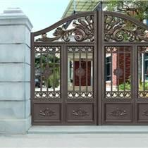 石家莊鋁藝庭院門與鐵藝門的區別