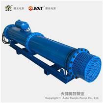 礦山排水臥式潛水泵_臥式安裝_變頻_電動