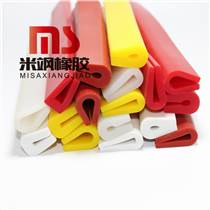 設備高溫硅膠條 U型硅膠密封條 硅膠包邊條