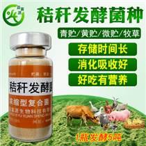 玉米秸稈發酵劑紅薯藤青儲飼料發孝液菌種黃貯稻牧羊草保