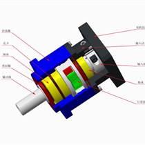 精密減速機AB115-L1同軸立式行星減速器機械專用