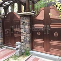 铝艺别墅大门庭院门双开门铝合金庭院大门院子大门定制欧