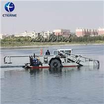 江蘇水面垃圾打撈船 水上水草收割機械 多功能河道保潔