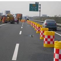 江門道路安全防護黃色吹塑工藝防撞桶 支持全國發貨