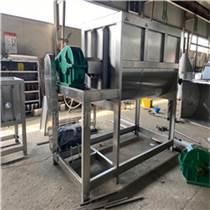 牛羊草料不銹鋼U型臥式攪拌機潮濕飼料烘干加熱攪拌機混