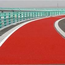 公園綠道彩色防滑路面膠粘劑 彩色坡道防滑路面膠粘劑